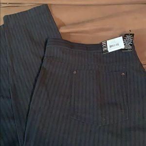 NWT Hue Leggings Stripe on Stripe XL